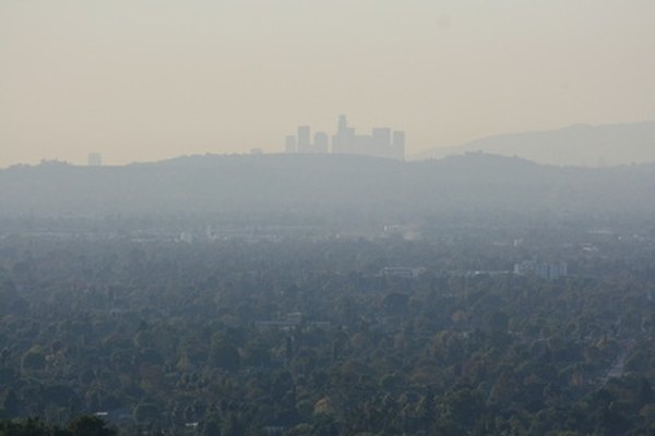 Serious smog levels in California prompted enactment of auto emissions inspection laws.