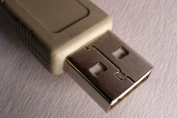 Many mass storage devices can be connected to your computer via the USB port.