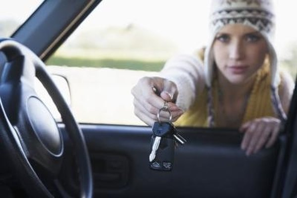 Contact a professional with lock-out tools to get your keys out of a locked Ford Focus.