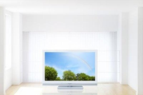 An flat panel TV can be disguised as a picture frame if the DVD player and other media devices are hidden.