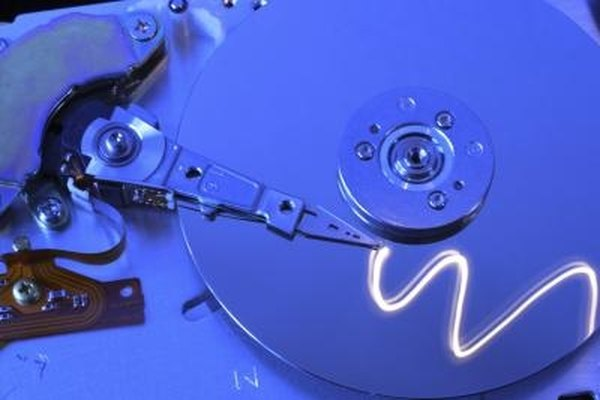 Downloaded programs are written and stored on the hard disk drive.