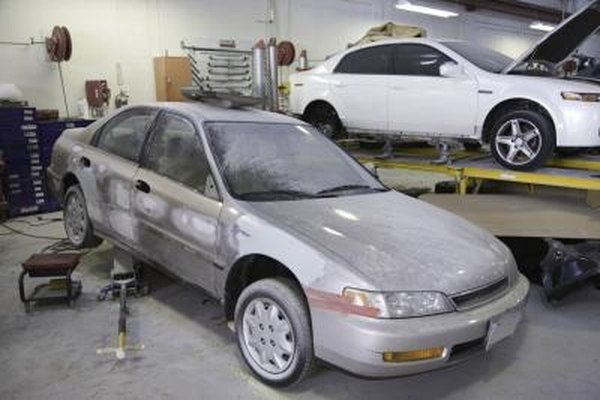 The compact 1995 Honda Accord sedan.