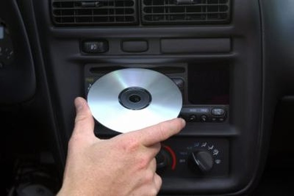 How To Release A Stuck CD From A Car's Player