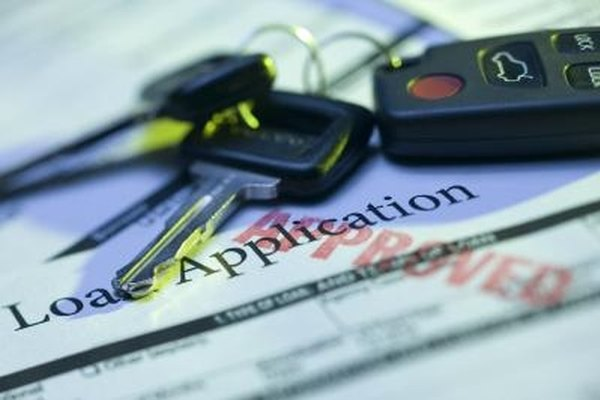 When you finance a car, the lender becomes a lien holder on the title.