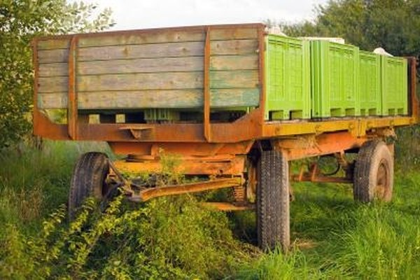 There are many different types of trailers.
