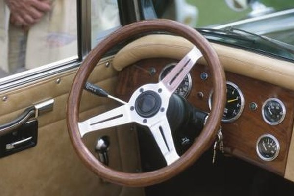 Restore a Leather Steering Wheel