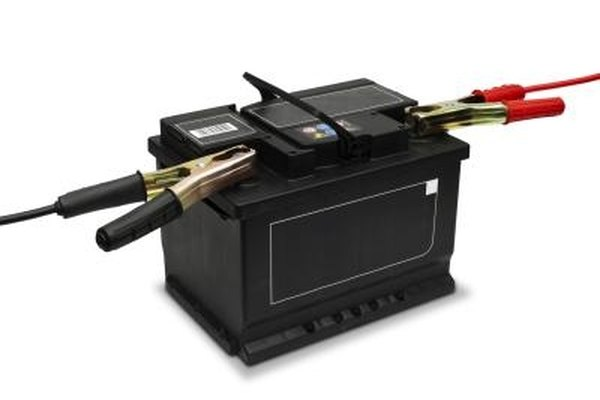 The car battery provides power for the S80's accessories.