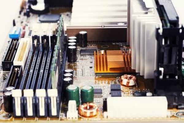 A motherboard's layout can vary depending on its manufacturer.