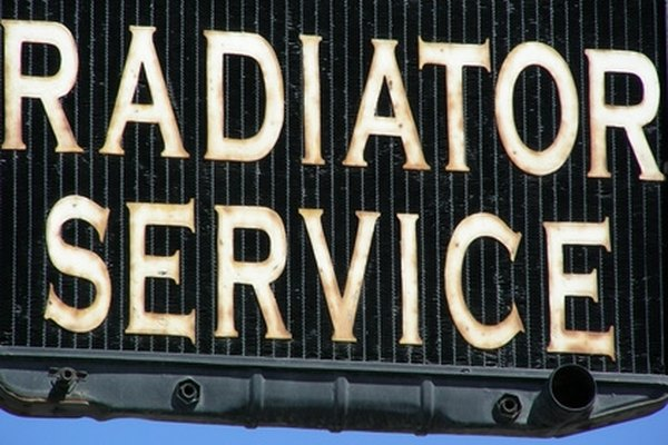 When a vehicle's radiator temperatures go above normal, service may be needed.
