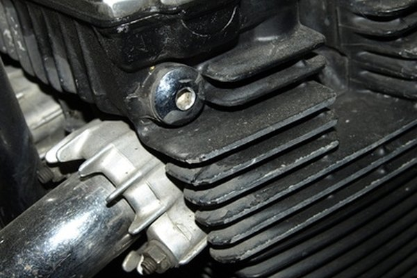 Motorcycles typically bypass a manifold and vent the exhaust directly into exhaust piping.