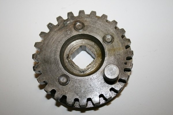 Gears make up a of a transmission.