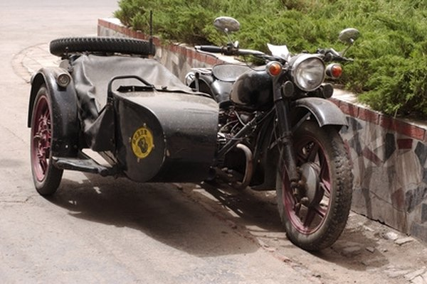 Attach a sidecar to your motorcycle to carry passengers safely.