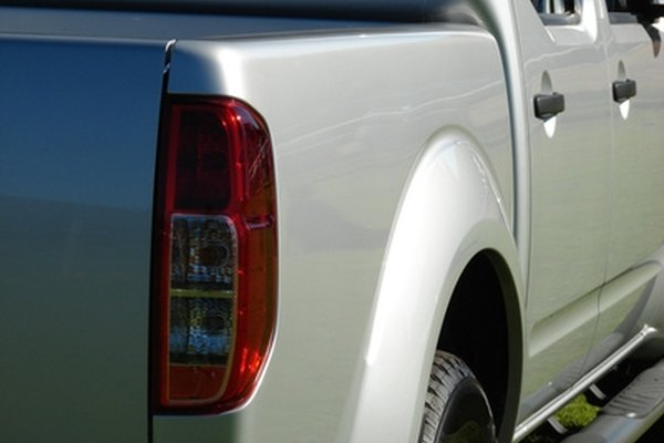Make a mold of your vehicle's taillight with a silicone mix.
