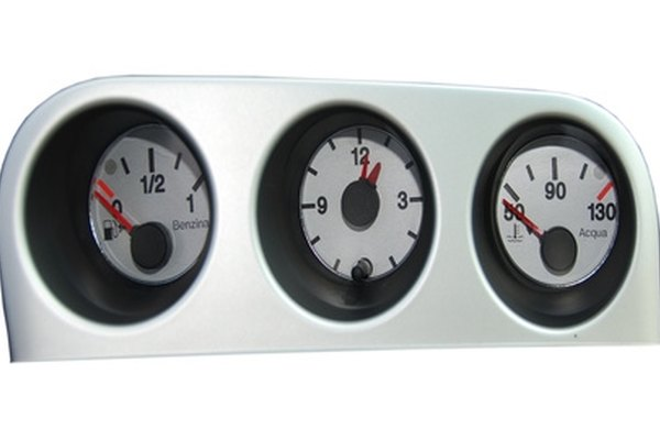A temperature gauge will let you know if your engine is running hot.