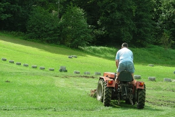 Lawn tractors are relatively small and intended for residential use.