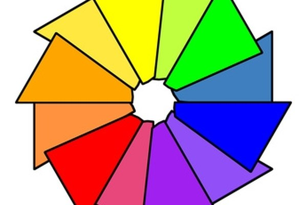 A color wheel can help identify the perfect color combination.