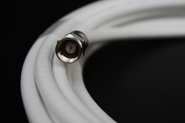 Coaxial output connects a coaxial cable to corresponding input.