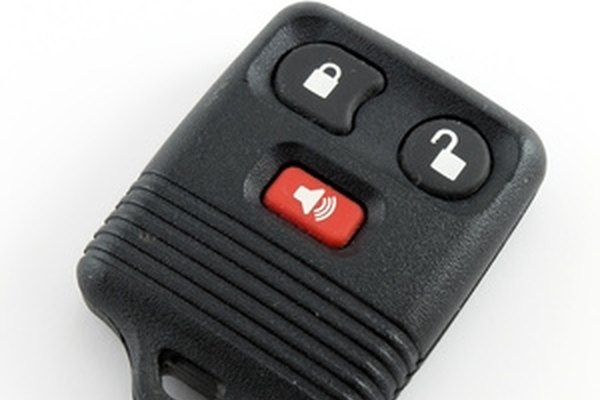 Ford keyless remotes are set to your car's locks.
