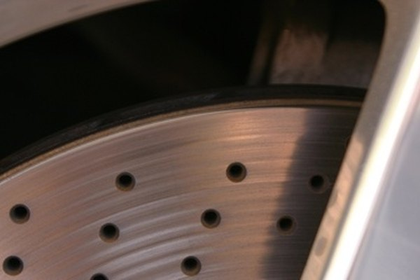 Brake calipers vary by car model.