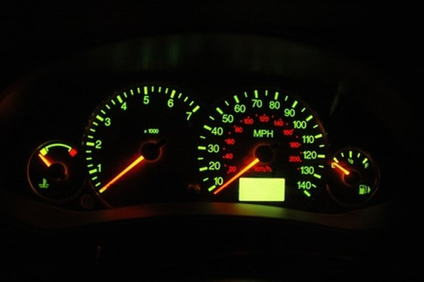 Dimming dashboard lights are a sign of a weak battery.