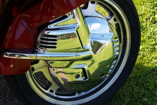 Chrome-clad wheels add a striking shine to your vehicle.