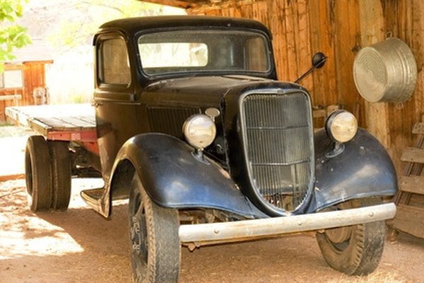 As early Ford frames are similar, they were used in both car and truck applications.