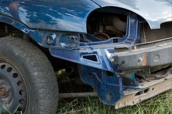 Salvage titles are issued to certain damaged or depreciated cars.