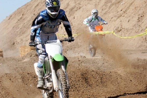 Dirt bikes can take their riders over rough terrain.
