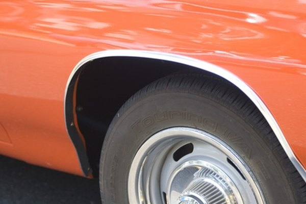 Muriatic acid can be used to clean corrosion, sap, tar and other hard-to-remove items from wheels.
