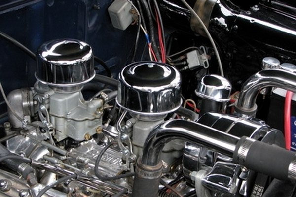 A clean engine makes it easier when looking for identifying numbers.