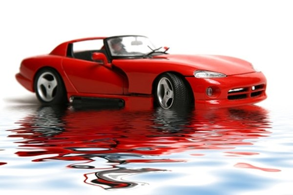 The Dodge Viper's releatively large engine holds 8 quarts of oil.