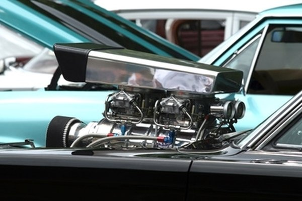 The Chevy 402 big block is a medium-sized BBC engine that is used in street races.