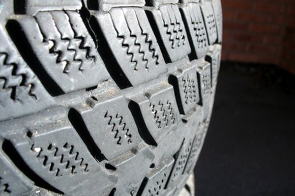 Feathered tires are a sign of wear and tear.