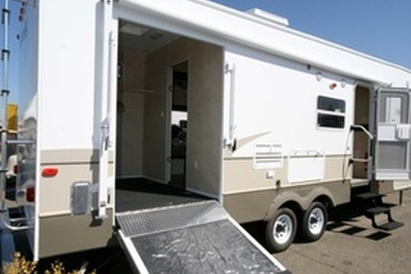 RV owners sometimes install ladders to increase space and utility.