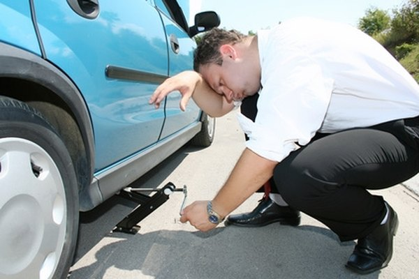 Changing a tire is not complicated, once you get the hang of it.