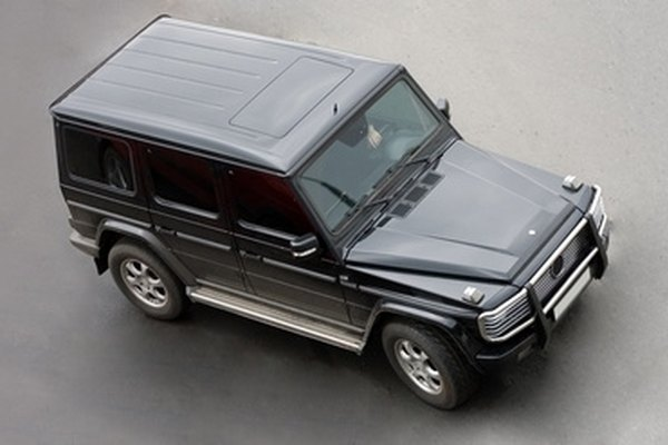The G-class Benz was originally a military vehicle.