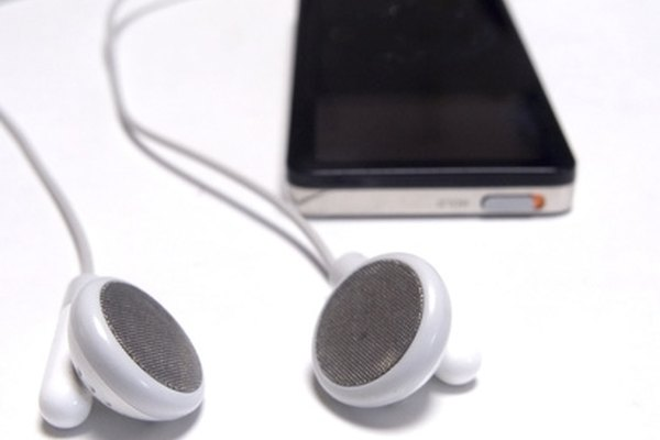 The earphones included with the iPhone contain a microphone.