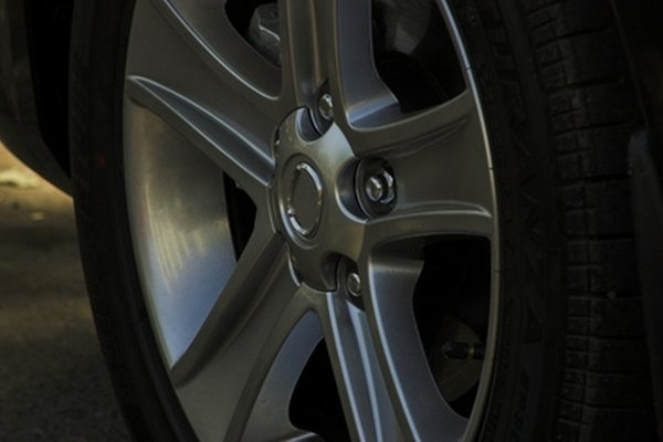 Alloy wheels can be clear-coated to look like new.