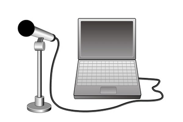 Setup a USB microphone to use chat applications.