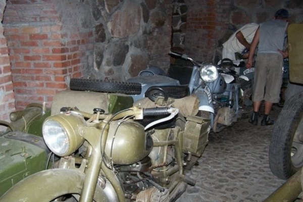 Many vintage motorcycles don't need battery maintenance since they don't have batteries.