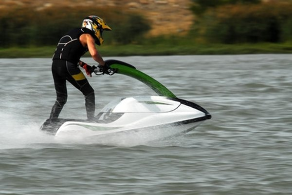 Jet skis look cleaner without a lot of decals.