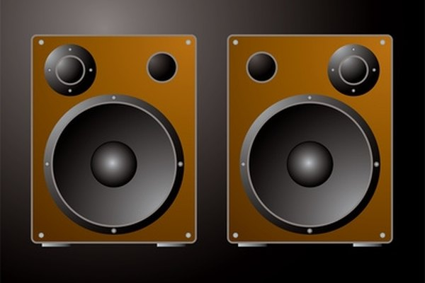 Speaker output increases when an amplifier is added to the mix.