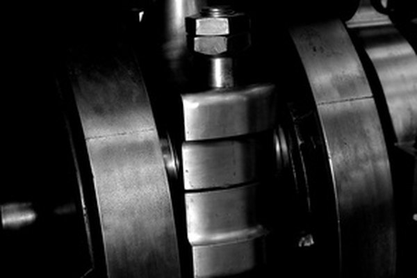 The crankshaft of an engine controls the speed of its valves and pistons.