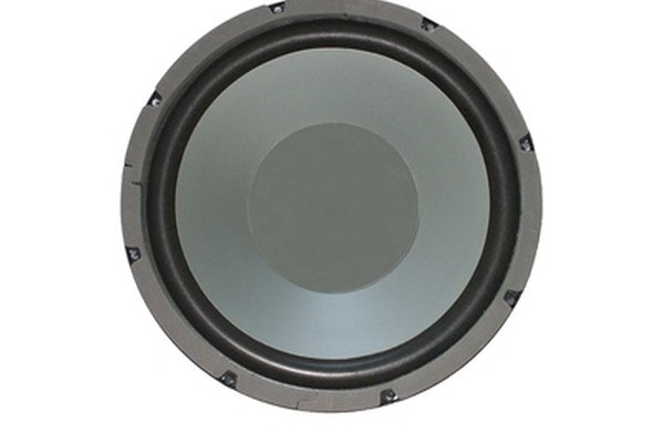 A subwoofer will increase the amount of bass produced by your Mustang's stereo system.