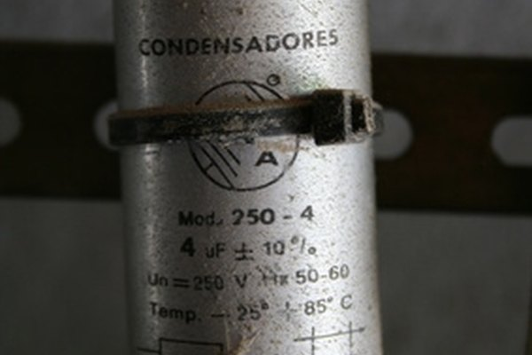 A/C Motor Capacitor