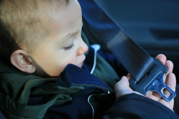 Replace the seat belt in your vehicle if it shows signs of damage.