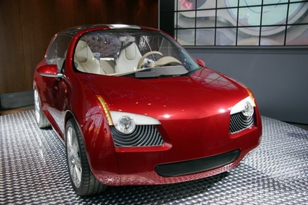 Foam-based models of concept cars often precede the physical production of the prototype.