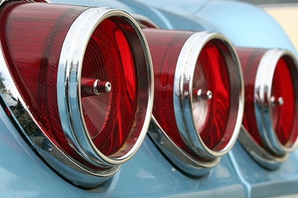 Customize LED tail lights within a vehicle's stock housing.