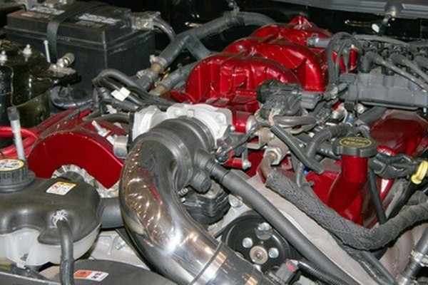 The harmonic balancer absorbs vibration from a car's engine.