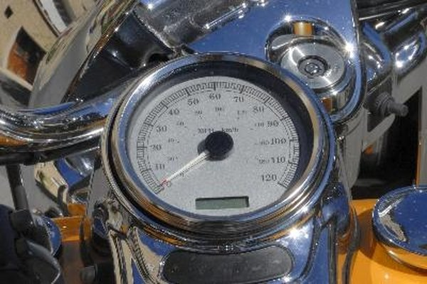 Calibrate your Harley speedometer to make sure you stay within the speed limit.